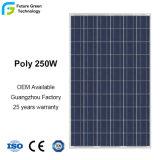 comitato solare policristallino di PV di potere fotovoltaico di energia 250W