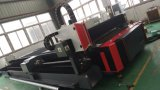 Tagliatrice del laser della fibra della lamina di metallo e del tubo per il CS Alu degli ss