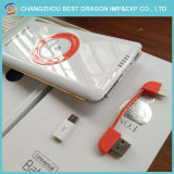 Portable 10000 mAh cargador inalámbrico Qi Banco de potencia para dispositivos móviles