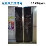 Multi Tür-viertüriger französischer Kühlraum mit schwarzer Farbe