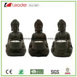Большой Будда стоя с Figurines сада лотоса для домашних подарков украшения и корабля