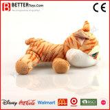 Brinquedo macio super do afago do gato do luxuoso do animal En71 enchido para miúdos