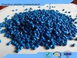 Цвет Masterbatch высокого пигмента химически голубой с несущей PP/PE/ABS/PS