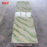 Kkr weißer Acrylgroßhandelsstein bedeckt feste Oberfläche