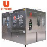 Água mineral de garrafa pet água pura de enchimento de lavar roupa máquina de nivelamento