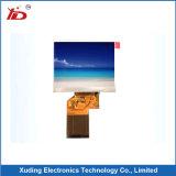 """Haute luminosité 7"""" 800*480 Panneau d'affichage TFT avec interface LVDS panneau tactile capacitif"""