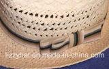 Papel de la manera/sombrero del sombrero flexible de la paja con los arqueamientos para el adulto