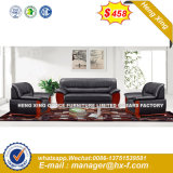 Büro-Sofa-gesetzter haltbarer Büro-Leder-Sofa-Stuhl (SN-8077)