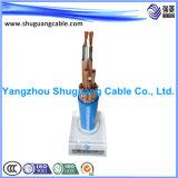 El alto voltaje/subterráneamente cablegrafía
