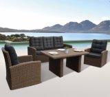 Сад патио плетеной плетеной Home Отель Wellington Office Lounge садовой мебелью (J407)