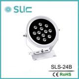 丸型LEDのスポットライトで照らすことのDC24V 46W LEDの洪水ライト