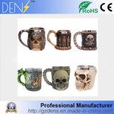 3D Skull tazas tazas de animales Lobo Jarra Caballero Dragón de la Copa de cerveza