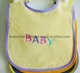 Kundenspezifischer Entwurfs-BaumwollApplique gestickter Terry-Baby-Kleinkind-Schellfisch