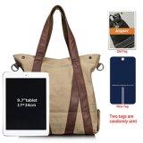 Sacos de Tote feitos sob encomenda relativos à promoção da lona da forma para a compra/a viagem