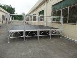 Aluminiumkonzert-Stadium mit Klammer und justierbare Beine für Ereignis