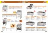 Machine profonde électrique de friteuse de machine de friteuse du certificat 2-Tank 2-Basket de la CE