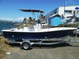 Liya Sw580 Fiberglas-Geschwindigkeits-Boots-Fischerboote, die Plattform-Boote fischen