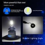 최고 밝은 고/저 광속 LED Headlamp H4 H7 H13 9005 40W 8000lm 6000K 360 정도 3 옆 옥수수 속 자동 차 전구