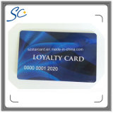 Пластичная карточка магнитной прокладки с Bacode