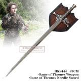 Jogo da espada austero de Eddard dos tronos com chapa 87cm HK8444