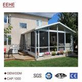Chinois de verre en aluminium Supllier de pièce de Sun de jardin d'hiver