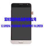 SamsungギャラクシーJ3のための携帯電話LCDの工場価格の等級AAAのタッチ画面の表示