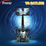 Máquina de juego interactiva del simulador de la realidad virtual de Gatling que tira
