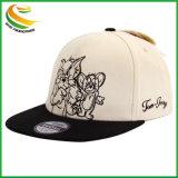 De algodón deporte OEM Snapback Gorras personalizadas con Logo