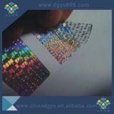 Custome Etiket van de Sticker van de Laser van het Hologram van het Gebruik van Één Keer het Zelfklevende