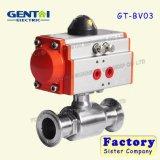 Хороший шариковый клапан соединения давления Quanlity Pnumatic высокий пневматически сработанный
