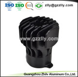 Dissipatore di calore di alluminio a forma di del girasole materiale da costruzione/dell'alluminio personalizzato