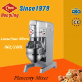 40kg 100L luxuriöse Handelsbäckerei-Kuchen-Maschinen-planetarischer Mischer