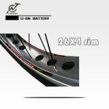 سمين إطار العجلة [26ينش] درّاجة كهربائيّة مع [750و] محرّك منتصفة