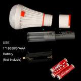 Populares 18650 Recarregável de Iões de lítio de LED da bateria luz de Campismo
