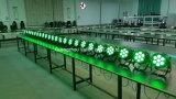 Vello LED 6in1 Rgbwauvの同価はライト(LEDのエルフColorPar7)を上演できる
