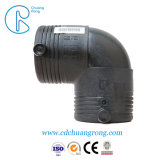 HDPEの管90度の肘付属品
