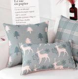 Ammortizzatore semplice del cuscino degli alci del cotone della federa minimalista nordica del cuscino