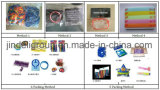 Wristband su ordinazione all'ingrosso del silicone di colore riempito Debossed per il regalo promozionale