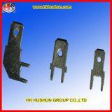Messing-/Kupfer-elektrischer Kontakt-Gebrauch für Schaltkarte-Vorstand (HS-CE-022)