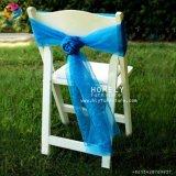 Сильный складной напольный белый стул Hly-RS041 смолаы
