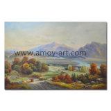 Handmade Classical paisaje Óleo sobre tela