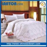 300tc 100%Cotton 공단 직물 깃털 이불 100%Bamboo 섬유 충전물