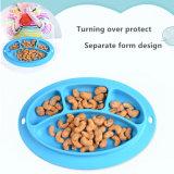 Nouvelle arrivée Owl les aliments pour bébés diviseur de la plaque de joint silicone vaisselle