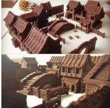 De in het groot Prototyping Fdm 3D Printer van de Chocolade van het Voedsel