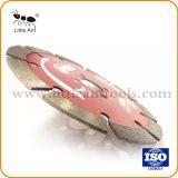 134мм сухого использования аппаратных средств Hot-Pressed режущий диск Diamond красный пильного полотна