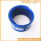 Wristband riflettente di schiaffo del PVC di Costom di prezzi di fabbrica (YB-SM-016)