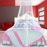 白いベッドのための蚊帳のおおい、クイーンサイズ