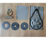 Walzen-Blendenverschluss-Tür Wechselstrommotor-Walzen-Tür-Öffner-Seiten-Walzen-Tür-Motor, 600kgs