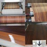 Бумага зерна древесины бука высокого качества пропитанная меламином для мебели