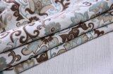 Material floral 100% de la cubierta del sofá del telar jacquar del poliester